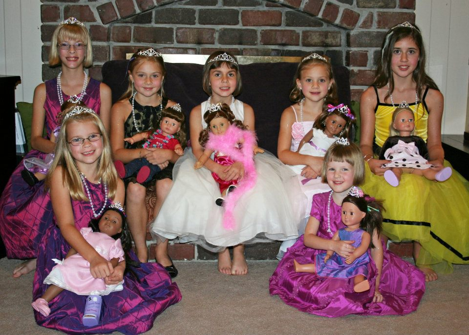 Tea and Tiara Parties, All American Girl Tea Party